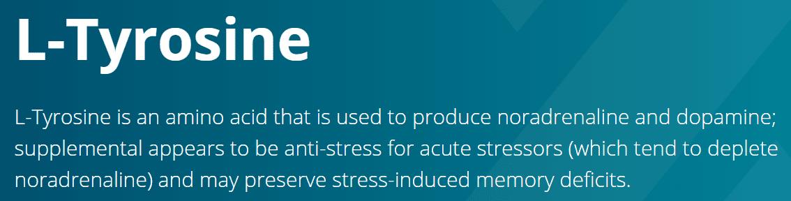 tyrosine stress