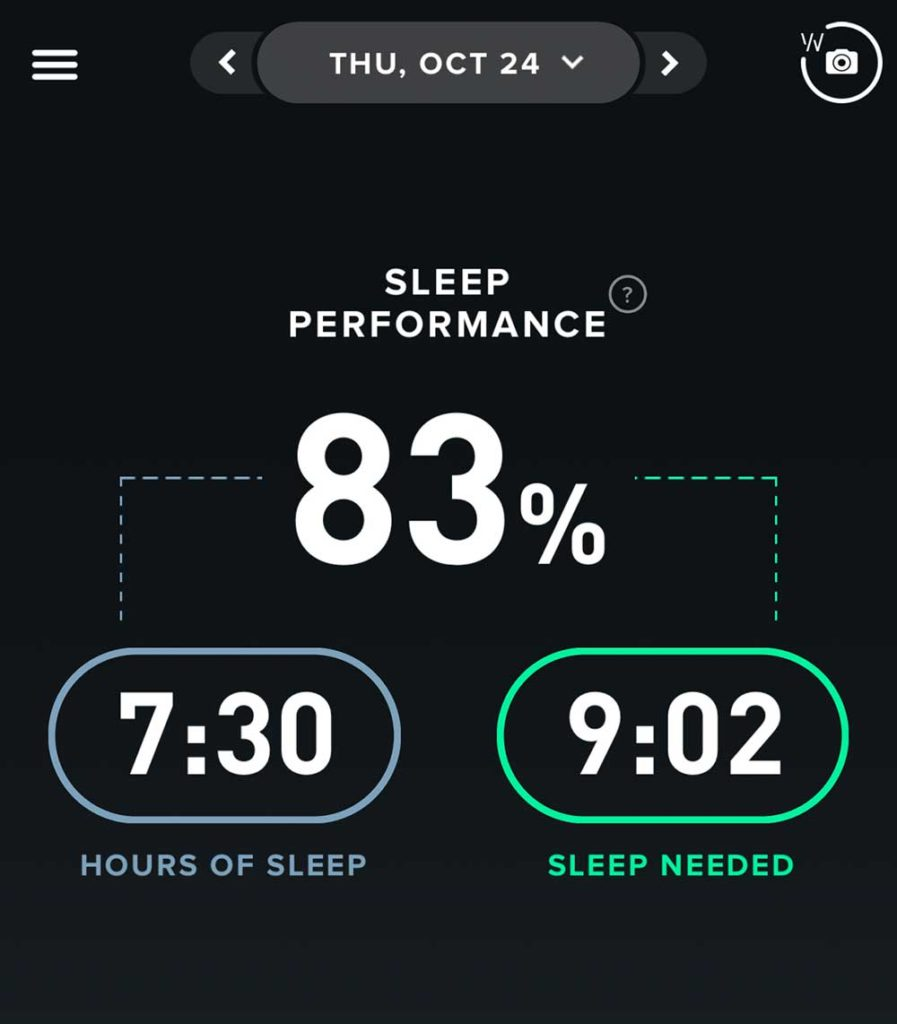sleep monitoring whoop watch and fitbit comparison