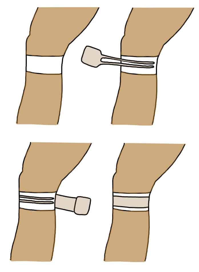 Patella Taping for Knee Pain
