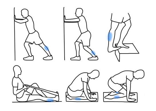 There are several exercises that can stretch and strengthen the muscles surrounding the shinbone, which will reduce the risk of developing both shin splints and stress fractures in the lower leg.